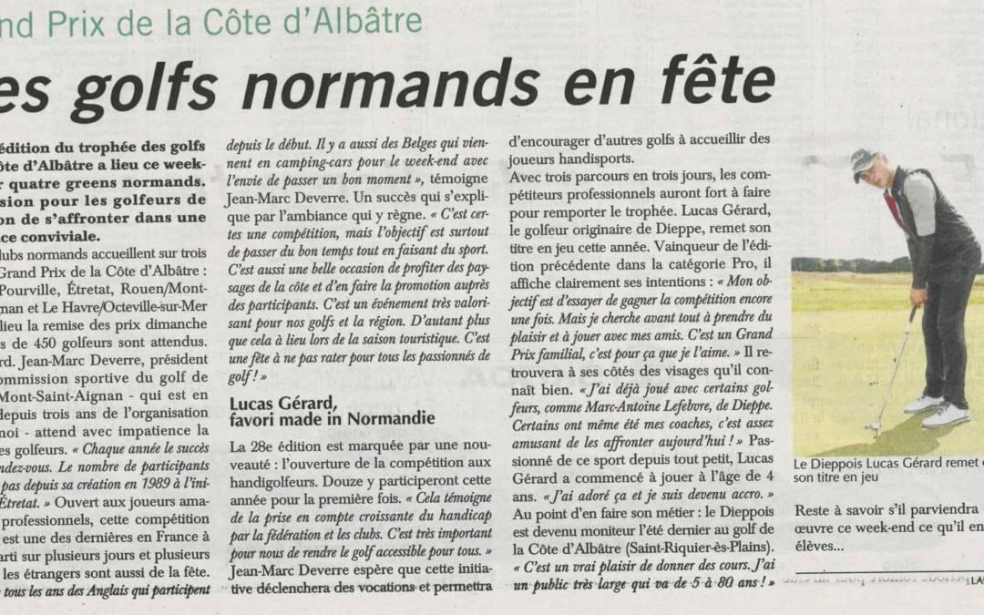 Le GPCA dans Paris-Normandie